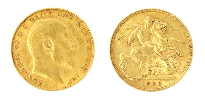 Lot 39 - Coins, Great Britain, Edward VII (1901-1910)