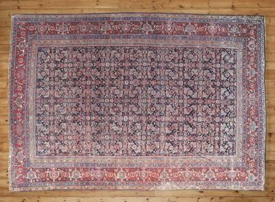 Lot 39 - A Feraghan carpet