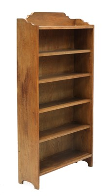 Lot 88 - An Arts and Crafts oak bookcase