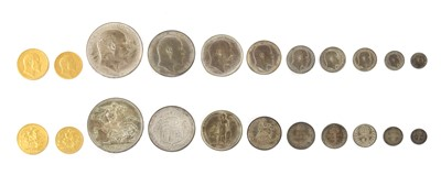 Lot 33 - Coins, Great Britain, Edward VII (1901-1910)