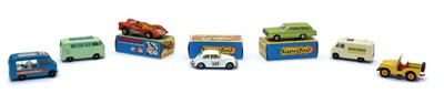 Lot 62 - A collection of over 130 toy vehicles