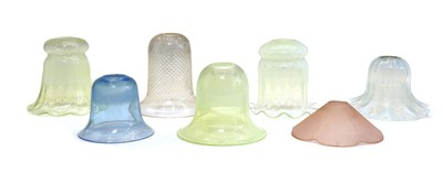 Lot 71 - A collection of glass shades