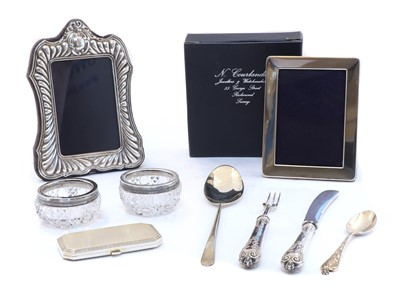 Lot 6 - A collection of silver