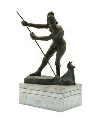 Lot 66 - A bronze sculpture