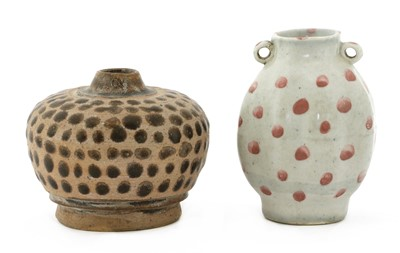 Lot 2 - A Chinese earthenware jarlet