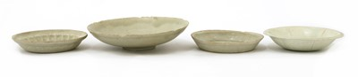 Lot 4 - Four Chinese qingbai dishes