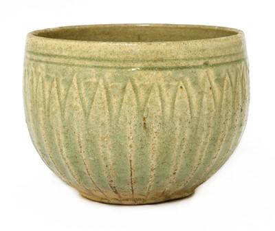 Lot 5 - A Chinese celadon-glazed bowl