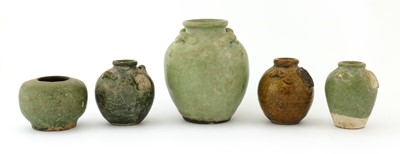 Lot 3 - A Chinese earthenware jar