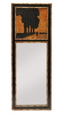 Lot 89 - A Rowley Gallery pier mirror