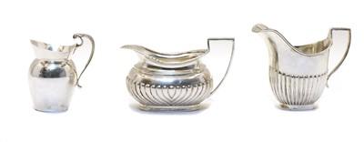Lot 20 - A Victorian silver cream jug