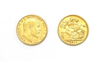 Lot 45a - Coins, Great Britain, Edward VII (1901-1910)