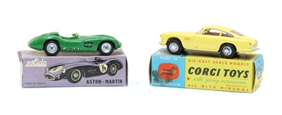 Lot 52 - Two boxed toy cars