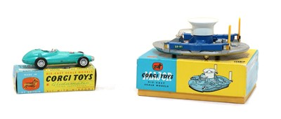 Lot 51 - Two boxed Corgi Toys Die Cast Scale Models