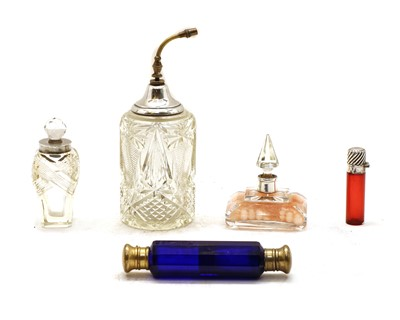 Lot 19 - A double ended perfume bottle