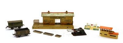 Lot 61A - A large quantity of Marklin & Hornby model railway equipment