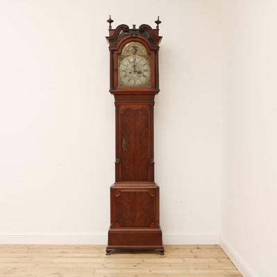 Lot 450 - A George III mahogany longcase clock