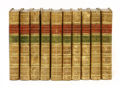 Lot 41 - BINDING: The Dramatick Works of Beaumont and Fletcher