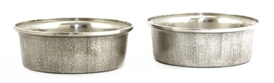 Lot 604 - A pair of modernist silver bowls