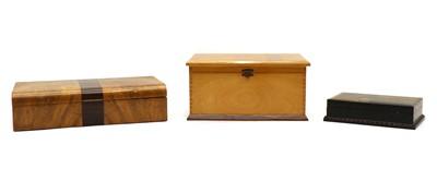 Lot 102 - Three Art Deco boxes