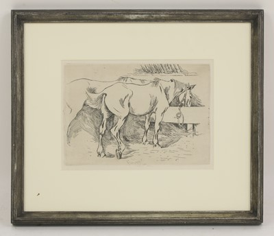 Lot 34 - Robert Polhill Bevan (1865-1925)