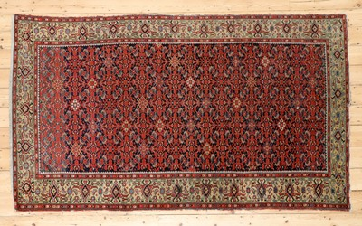 Lot 421 - A West Persian wool rug
