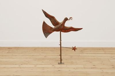 Lot 89 - A copper weathervane by Karen Green