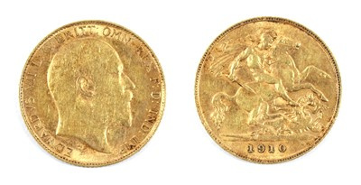 Lot 45 - Coins, Great Britain, Edward VII (1901-1910)