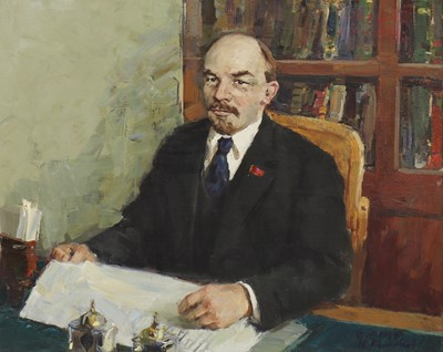 Lot 117 - Fiodor Zakharov (Russian, 1919-1994) and Yu Korovin (Russian, 1914-1991)