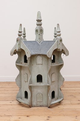 Lot 92 - A painted dovecote