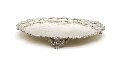 Lot 51 - An early Victorian silver salver