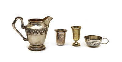 Lot 19A - A collection of Russian silver