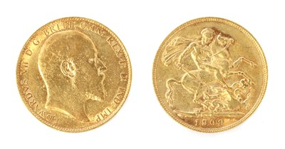 Lot 41 - Coins, Great Britain, Edward VII (1901-1910)