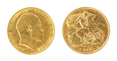 Lot 43 - Coins, Great Britain, Edward VII (1901-1910)