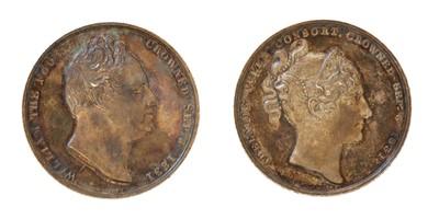 Lot 102 - Medals, Great Britain, William IV (1830-1837)