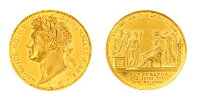 Lot 99 - Medals, Great Britain, George IV (1820-1830)