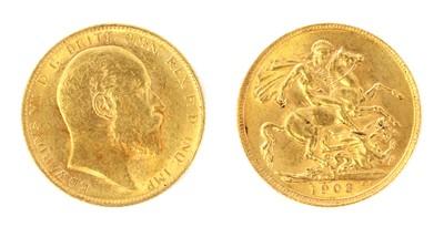 Lot 37 - Coins, Greta Britain, Edward VII (1901-1910)