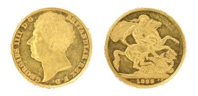 Lot 6 - Coins, Great Britain, George IV (1820-1830)