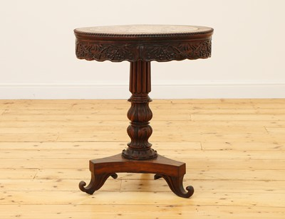 Lot 479 - An Anglo-Chinese hardwood occasional table