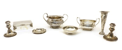 Lot 68 - A collection of silver items