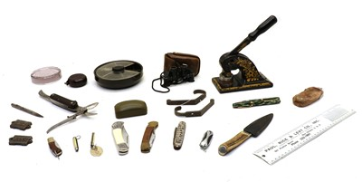 Lot 105 - A variety of items, to include,  a pair of GNER (railway) wall hooks