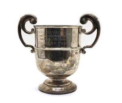 Lot 7 - Royal Naval School Twickenham Inter School cricket trophy