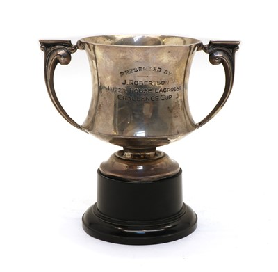 Lot 42 - Inter House Lacrosse Challenge Cup, Princess Helena College