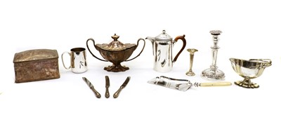 Lot 37 - A large collection of silver-plated items
