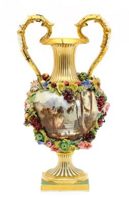 Lot 89 - A Bloor Derby vase