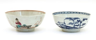 Lot 76 - An English porcelain bowl