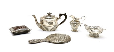 Lot 4 - Five early 20th century silver items