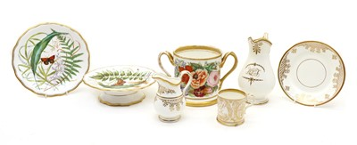 Lot 74 - A collection of 19th century ceramics