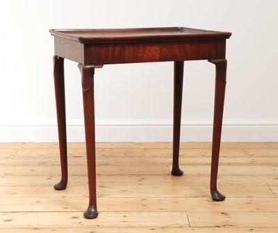 Lot 22 - A George II mahogany silver table