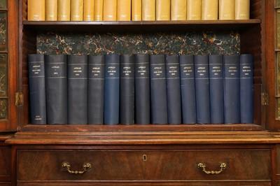 Lot 54 - A long run of bound 'Apollo' magazines