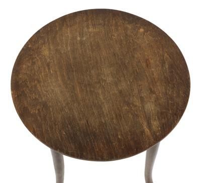 Lot 11 - A Thonet Jugendstil bentwood side table